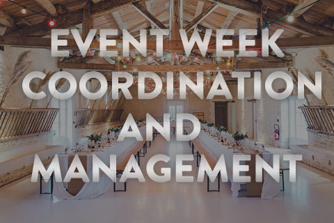 Event Week Coordination & Management